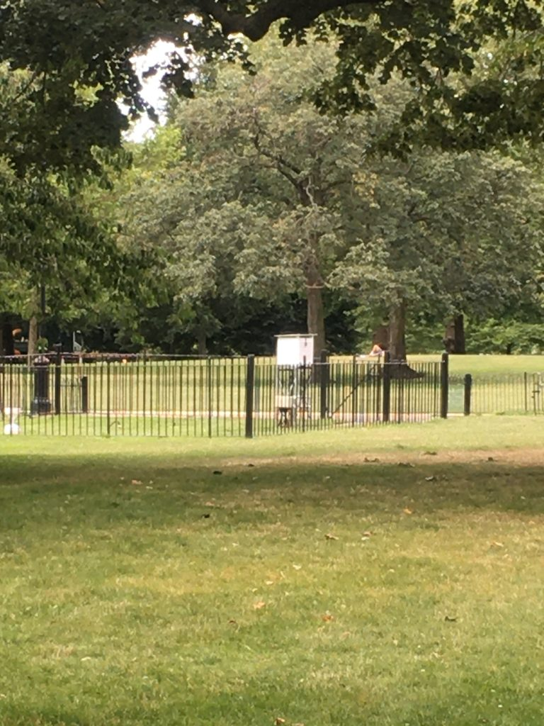 St James's Park Weather station in London
